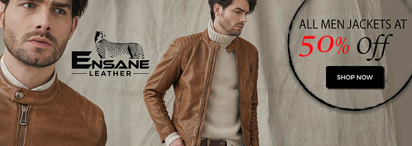 All Men Jackets At 50% Off