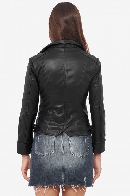 dreamy black trendy jacket