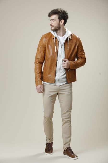 camel brown jacket