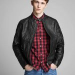 Stunning Plain Round Neck Black Jacket For Men's