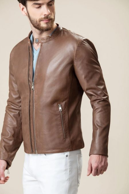 mind-blowing brown jacket