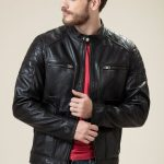 Bomber Shoulder Padding Jacket