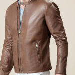 Elegant Brown Heavy Duty Jacket For Men's