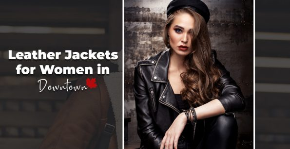 Leather Jackets for Women in Downtown