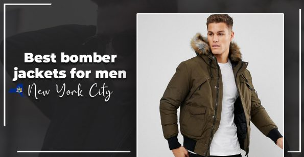 best bomber jacket for men in New York