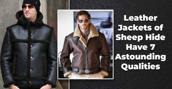 Leather jackets of sheephide