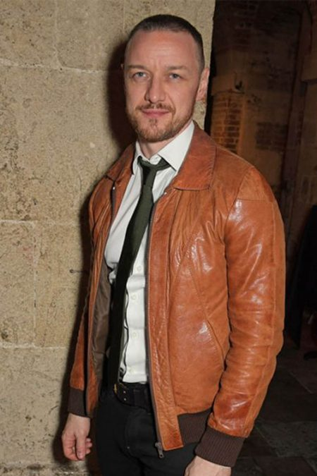 James Mcavoy Leather Jacket 2