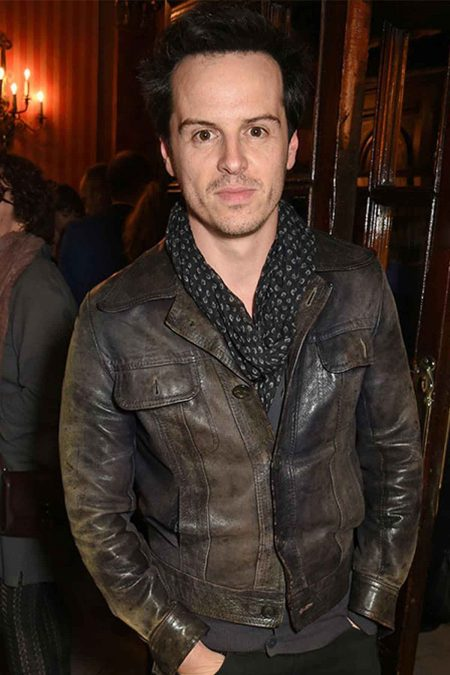 Andrew Scott Leather Jacket
