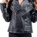 Riverdale Southside Serpents Leather Jacket For Women #1