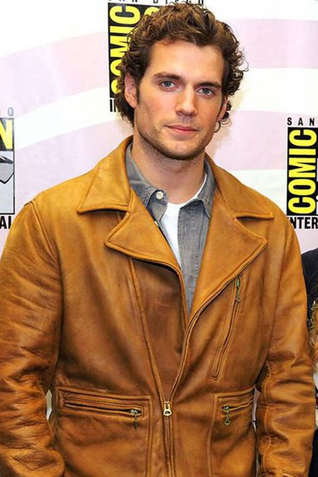 Henry Cavill Leather Jacket