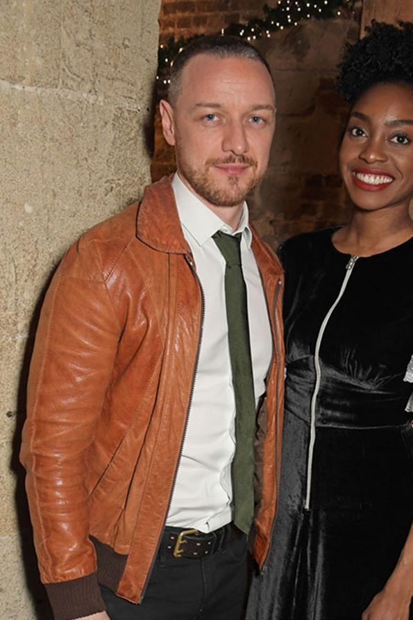 James Mcavoy Leather Jacket For Men