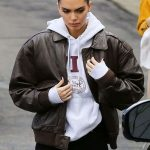 Kendall Jenner Leather Jacket For Women