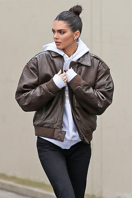 Kendall Jenner Leather Jacket