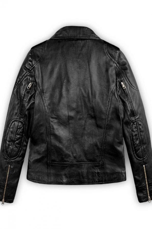 Sarah Connor Terminator Genisys Leather Jacket 6