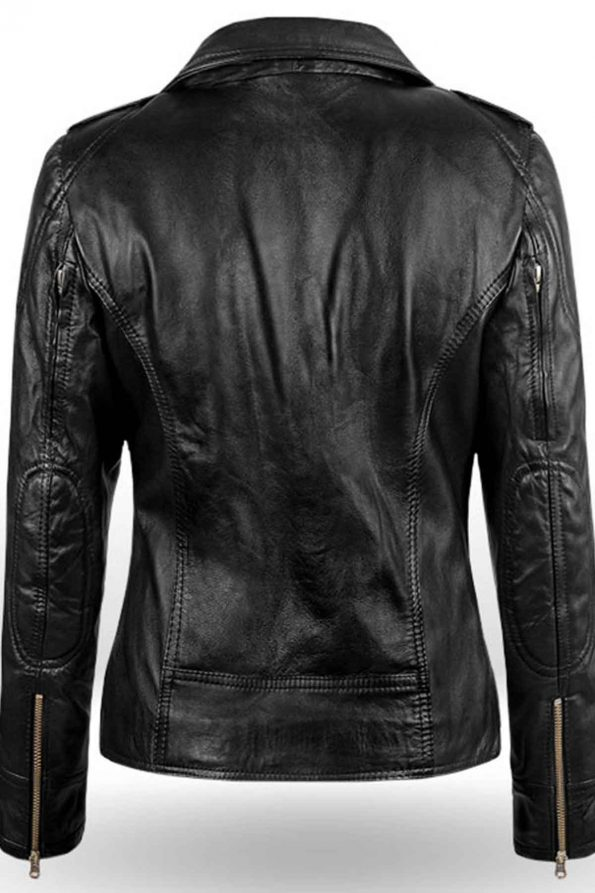 Sarah Connor Terminator Genisys Leather Jacket 5