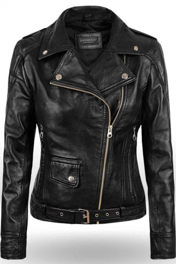 Sarah Connor Terminator Genisys Leather Jacket 3
