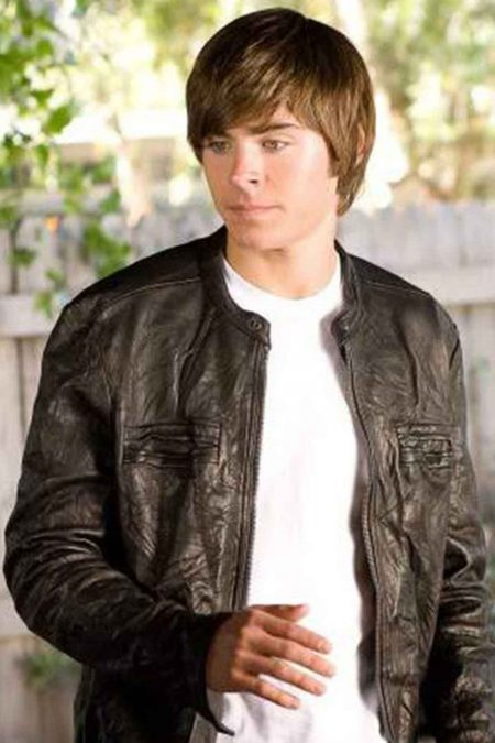 17 again leather jacket